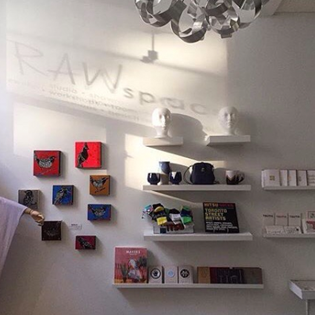 RAWSPACE : 270 Carlaw Ave. #102, Toronto   RAWspace features the work of 40+ selected talented Canadian designers in many different industries.
