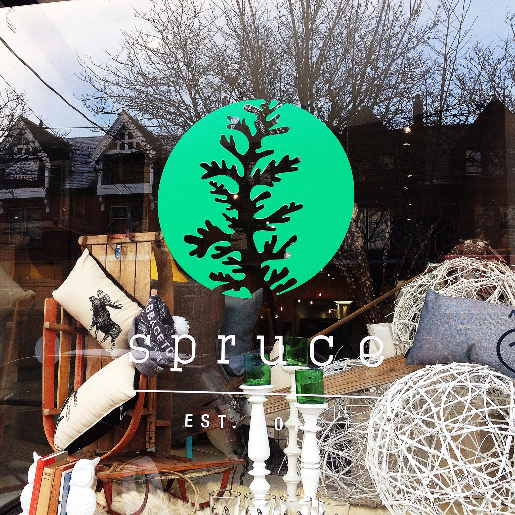 SPRUCE : 455 Parliament St., Toronto  Spruce is a decor & lifestyle shop located in the heart of Cabbagetown.