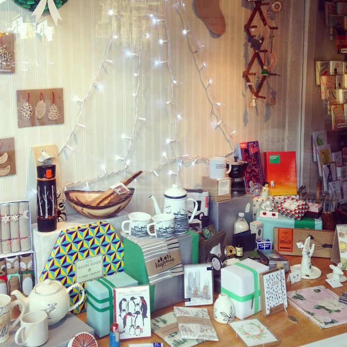 SCOUT : 405 Roncesvalles Ave., Toronto   Scout is an independent gift shop with a focus on handmade, Canadian and independent artisans.