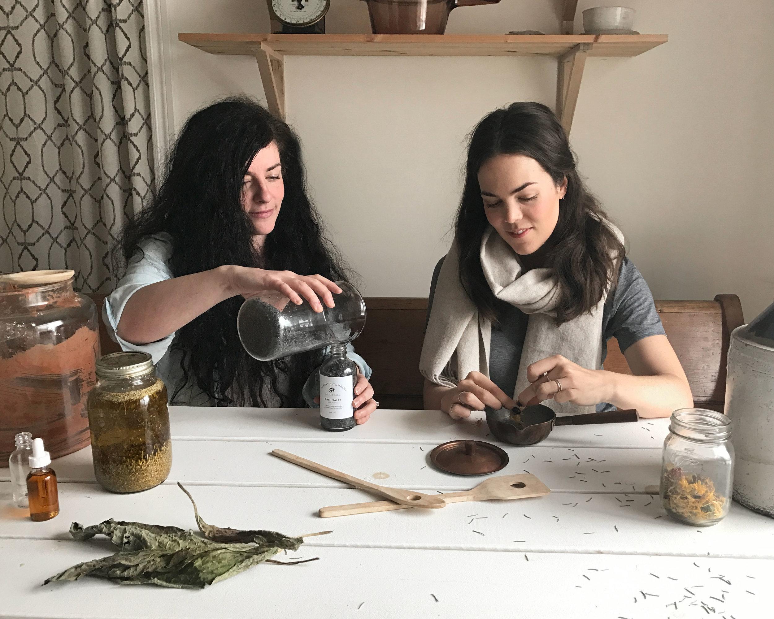 Melissa Condotta (left) and Victoria Beretta (right).