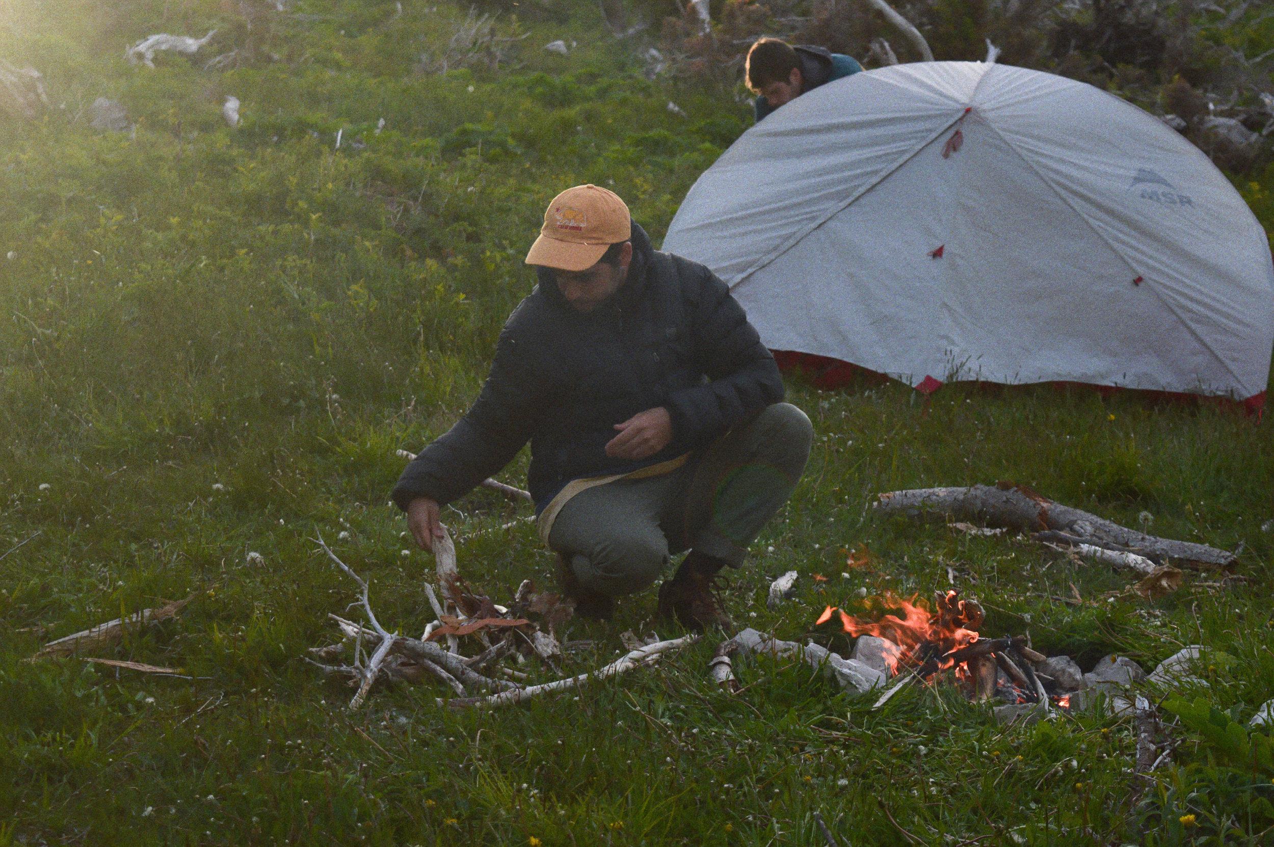 Campfires at Snug Harbour