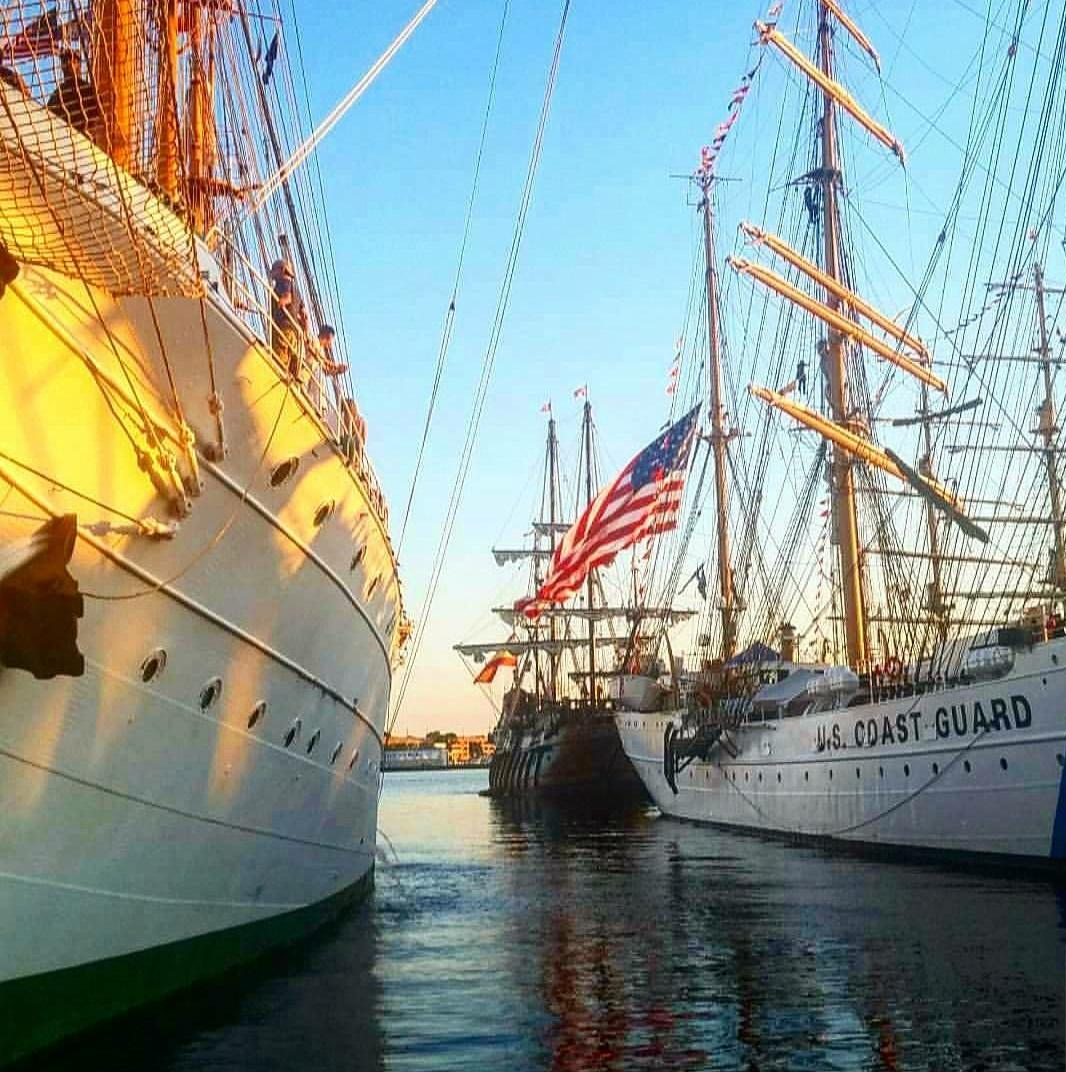 harbor fest coast guard ships
