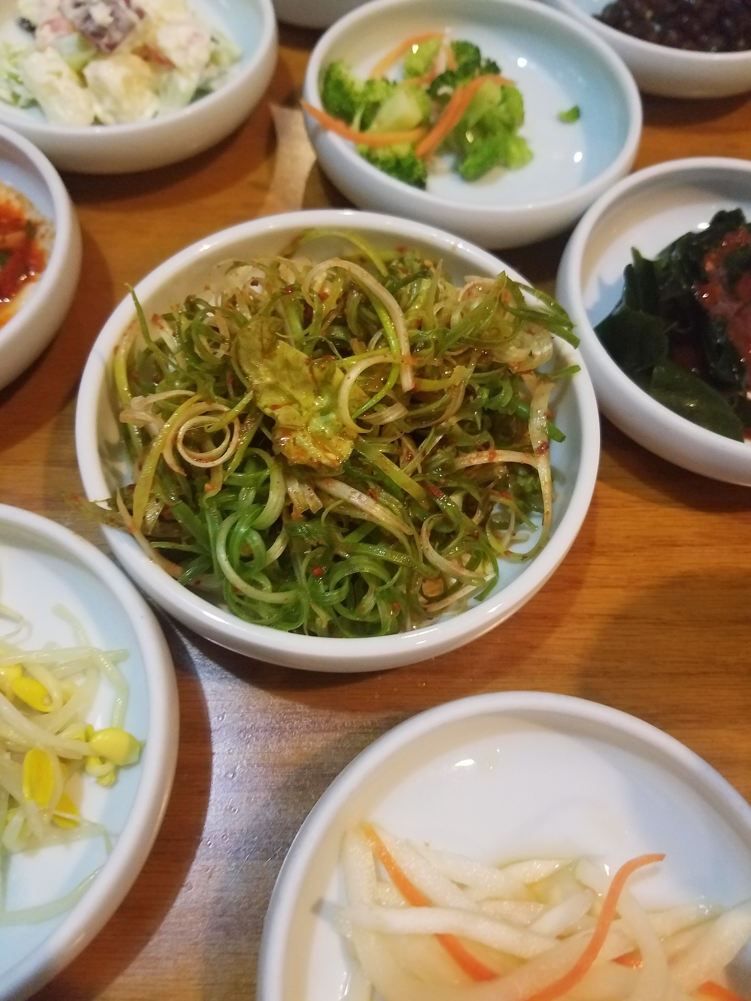 Korean BBQ Banchan Norfolk Garden