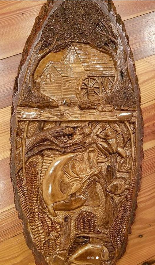 large relief carving