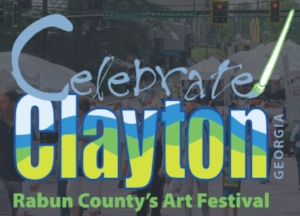 Celebrate Clayton  is an Arts and Fine Crafts event for all ages presented by the  North Georgia Arts Guild .       APRIL 28TH & APRIL 29TH  SATURDAY 10A-5P | SUNDAY 10A-4P  RAIN OR SHINE | DOWNTOWN CLAYTON GEORGIA