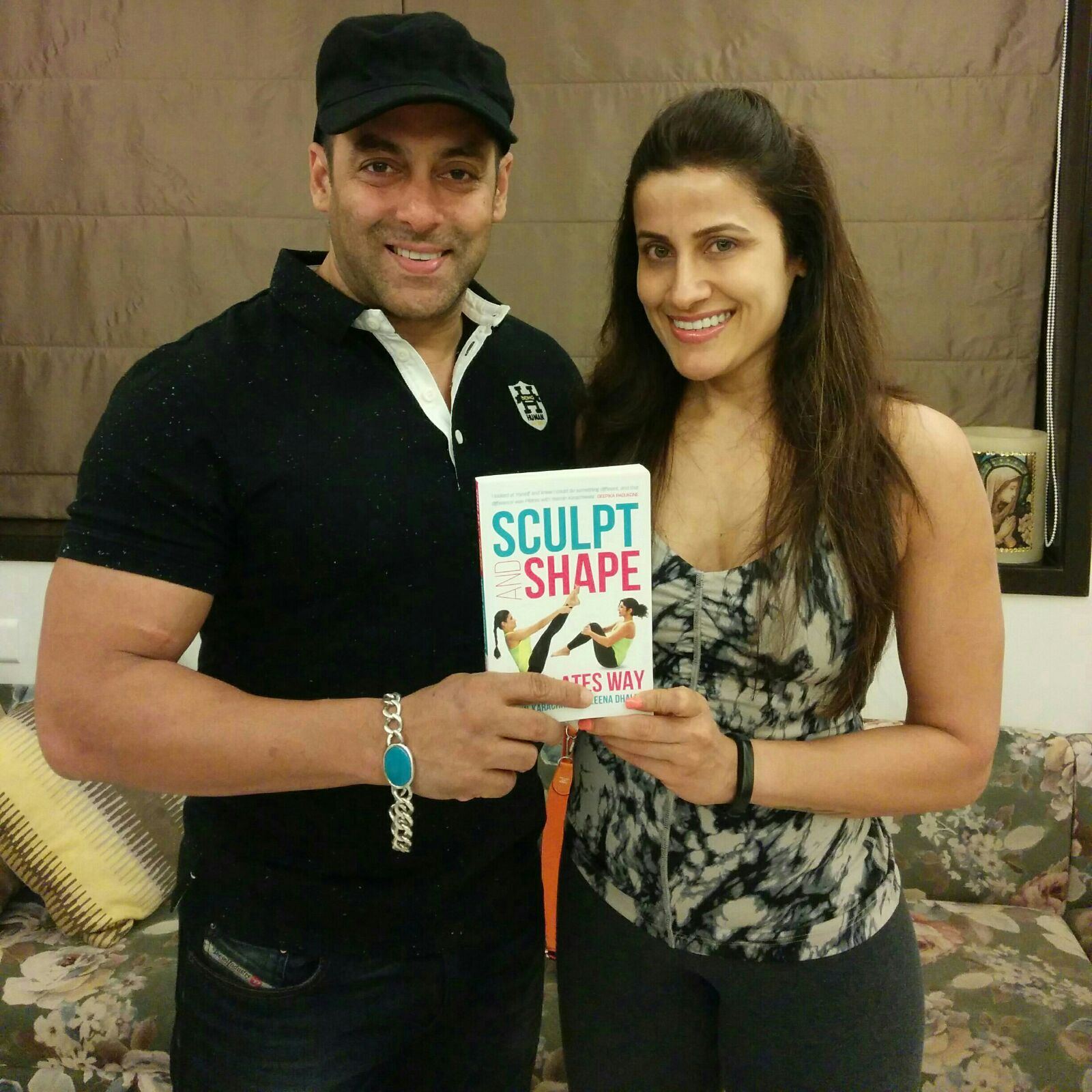 """Salman Khan     Having witnessed Yasmin's growth and commitment to health as a way of life for the past twenty years, I know here book will help many more bodies believe that that's the best place for a soul to live."""""""