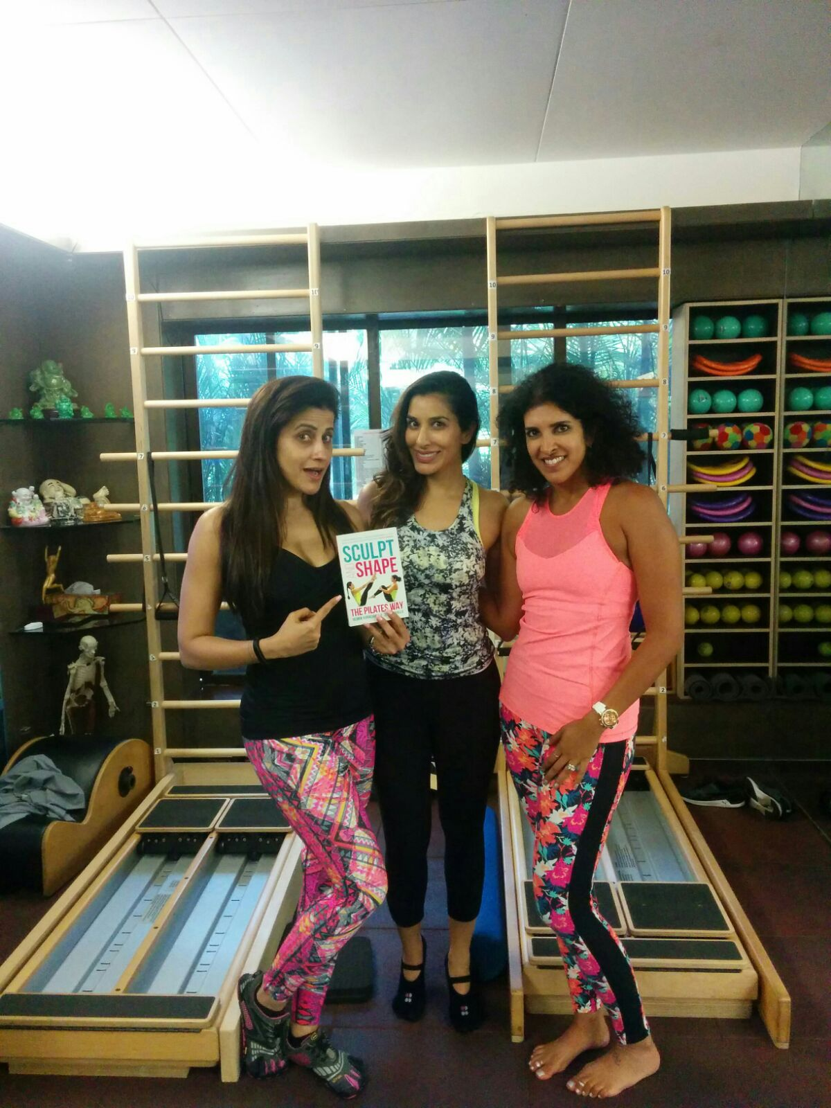 """Sophia Choudry     """"As a kid back in London I used to see my mum's passion for Pilates. In fact she sent me for my first class when I was just 16. Fitness has always been an important part of my lifestyle, however a couple of years ago I suffered from a slipped disc in my neck and a year later in my lower back. That was the end of my weight training and yoga for a while. What saved me was Pilates with Yasmin Karachiwala so much so that I was able to take part in the extremely physically challenging Jhalak Dikhlaja performing stunts I never thought I would! Pilates gives you so much body awareness, it really helps you to connect your body, mind and soul, it gives you tremendous core strength and flexibility and it's extremely challenging."""""""
