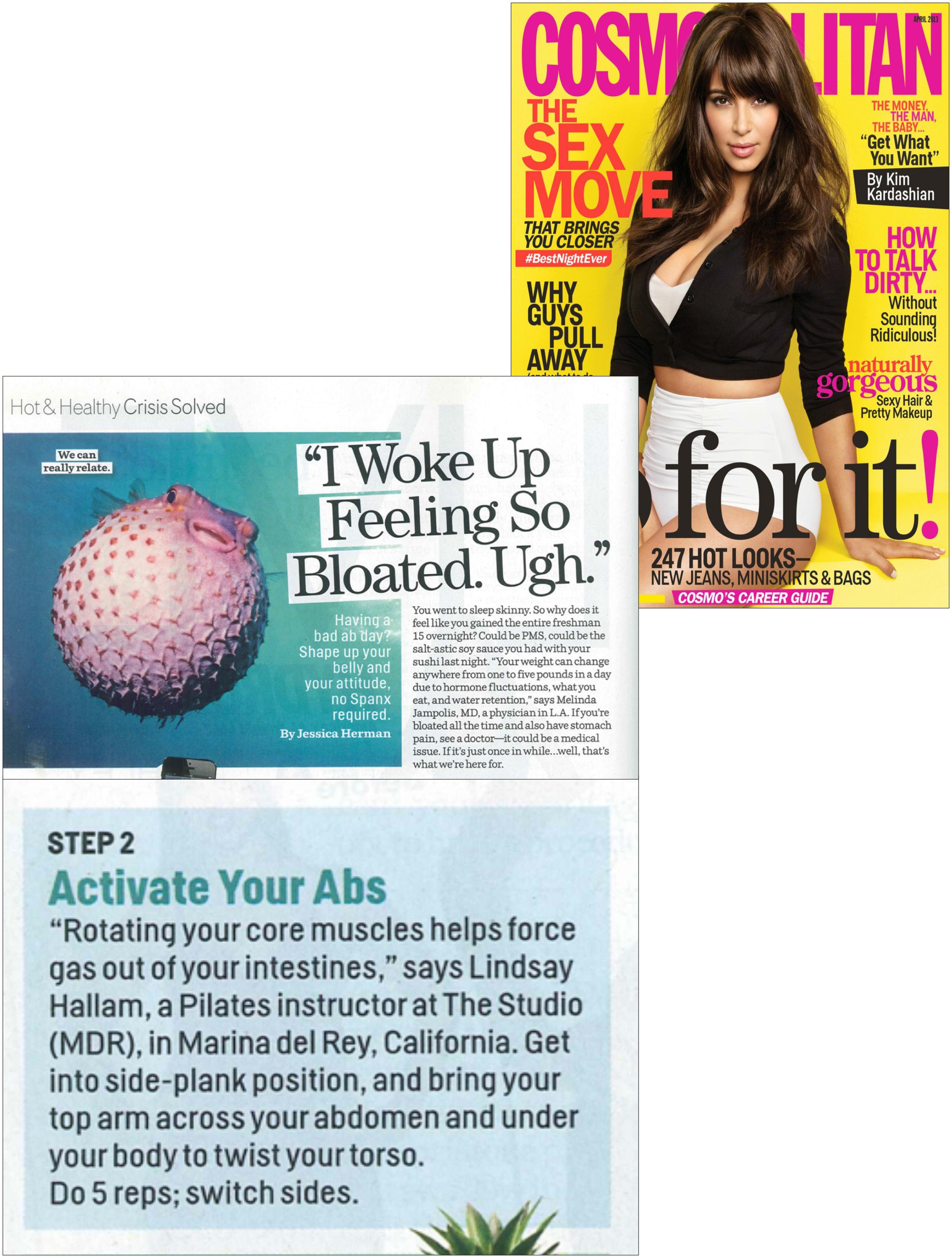 Cosmopolitan article, April 13