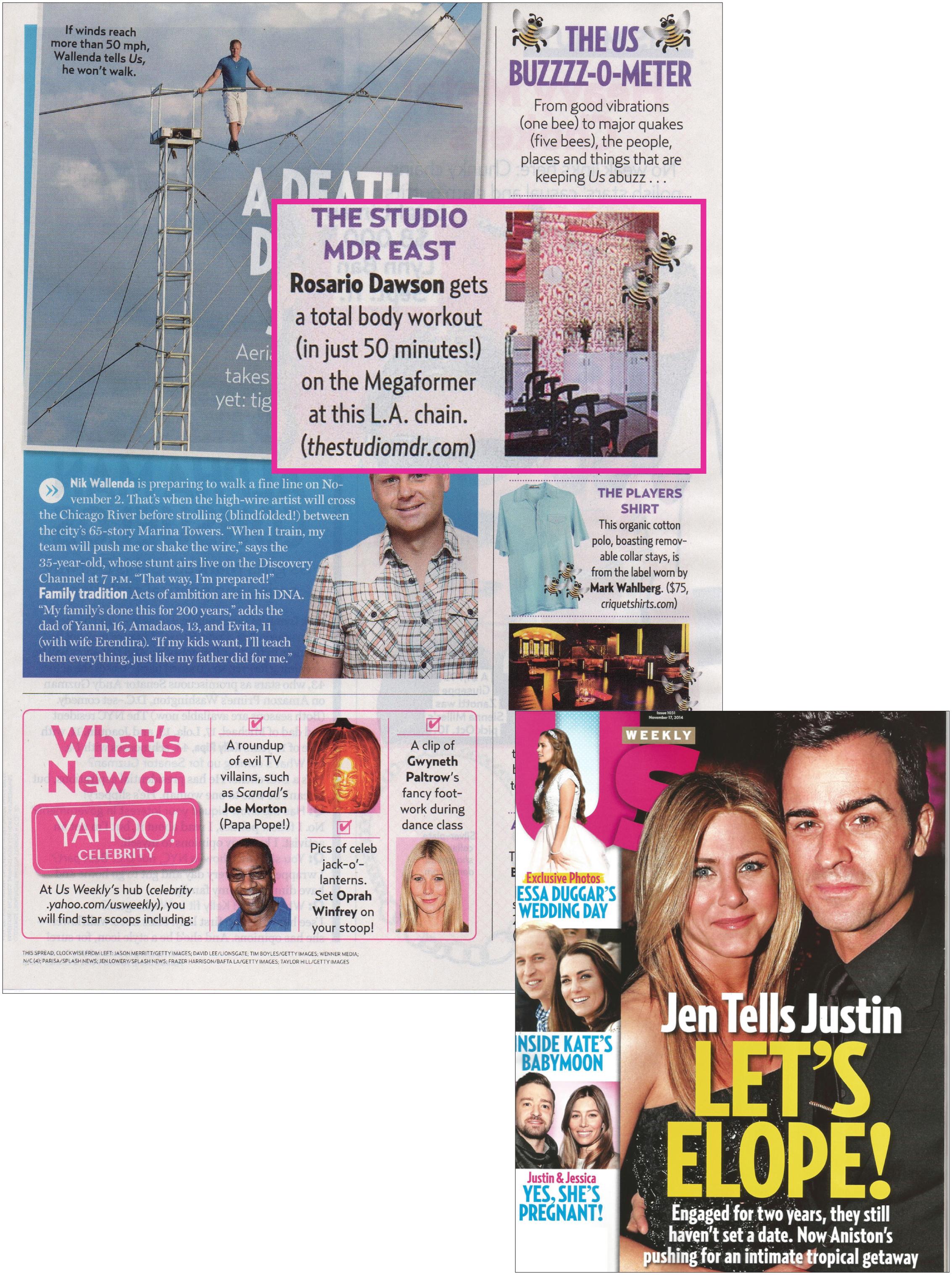 US Weekly article, Nov 14
