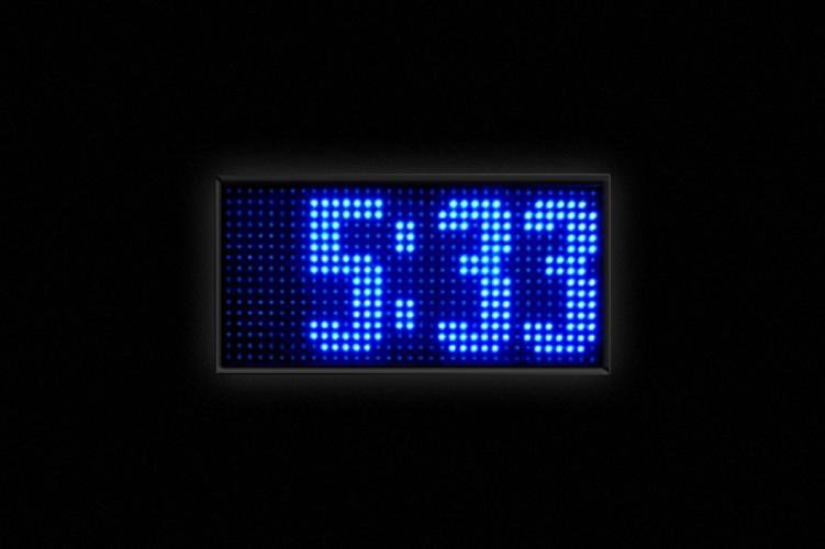 Relojes LED - Display de hora