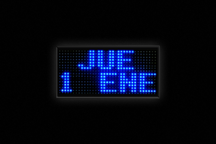 Relojes LED - Display de fecha