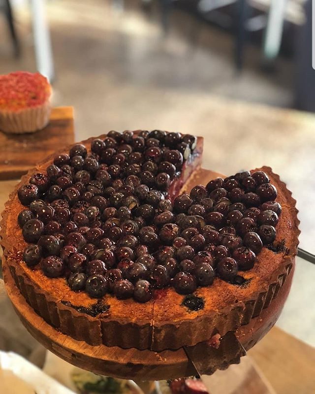 Sometimes we make salads... Sometimes we make blueberry tarts. That's why we are so unique, everyday is different, but always delicious.