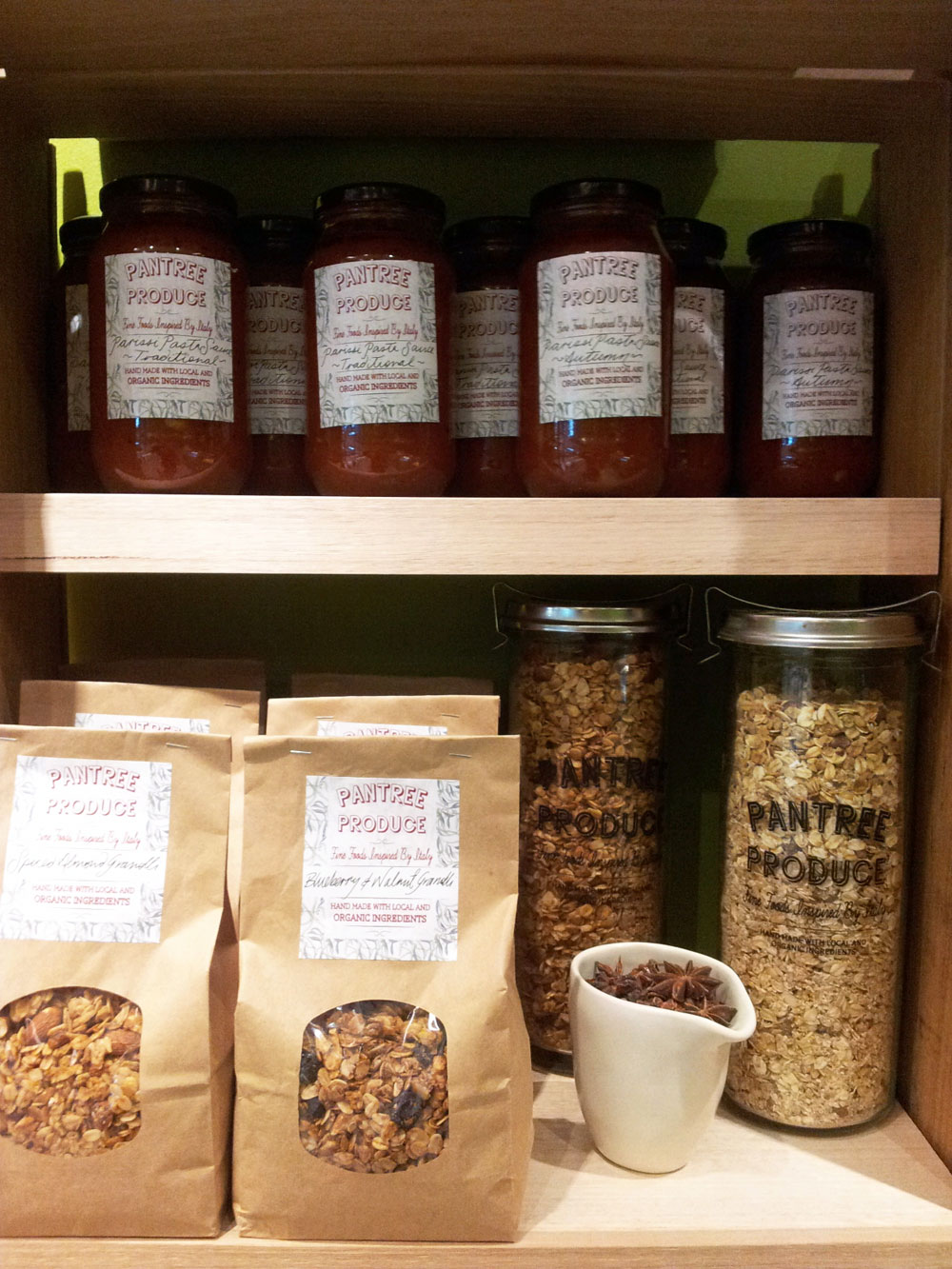 PanTree Produce is now stocked at Pulp Friction, in the Trafalga Arcade in Hobart's CBD. Our Complete range of Granolli and Mueslis and Porridge, along with our Parissi Pasta Sauce range is on the shelves! Pulp Friction (aka Juicy Lucy) makes amazing juice, so head on down to Collins Street and enjoy this delicious new shop!    http://www.facebook.com/PulpFrictionJuiceBar