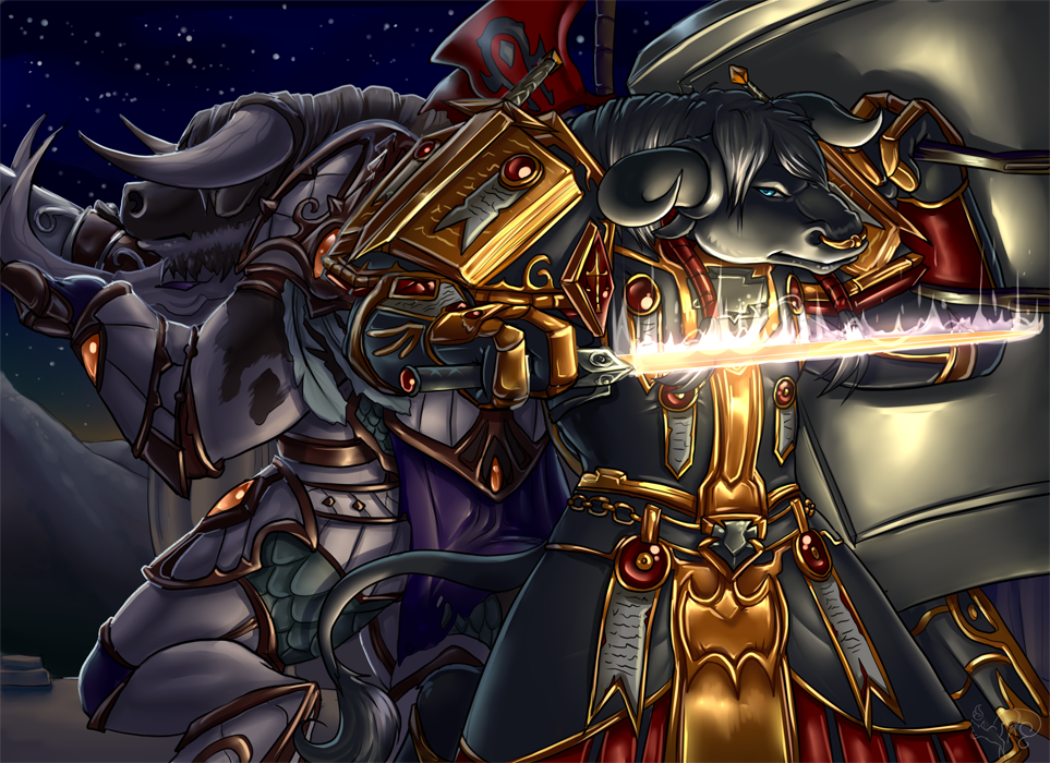 Private Commission of Warcraft Characters