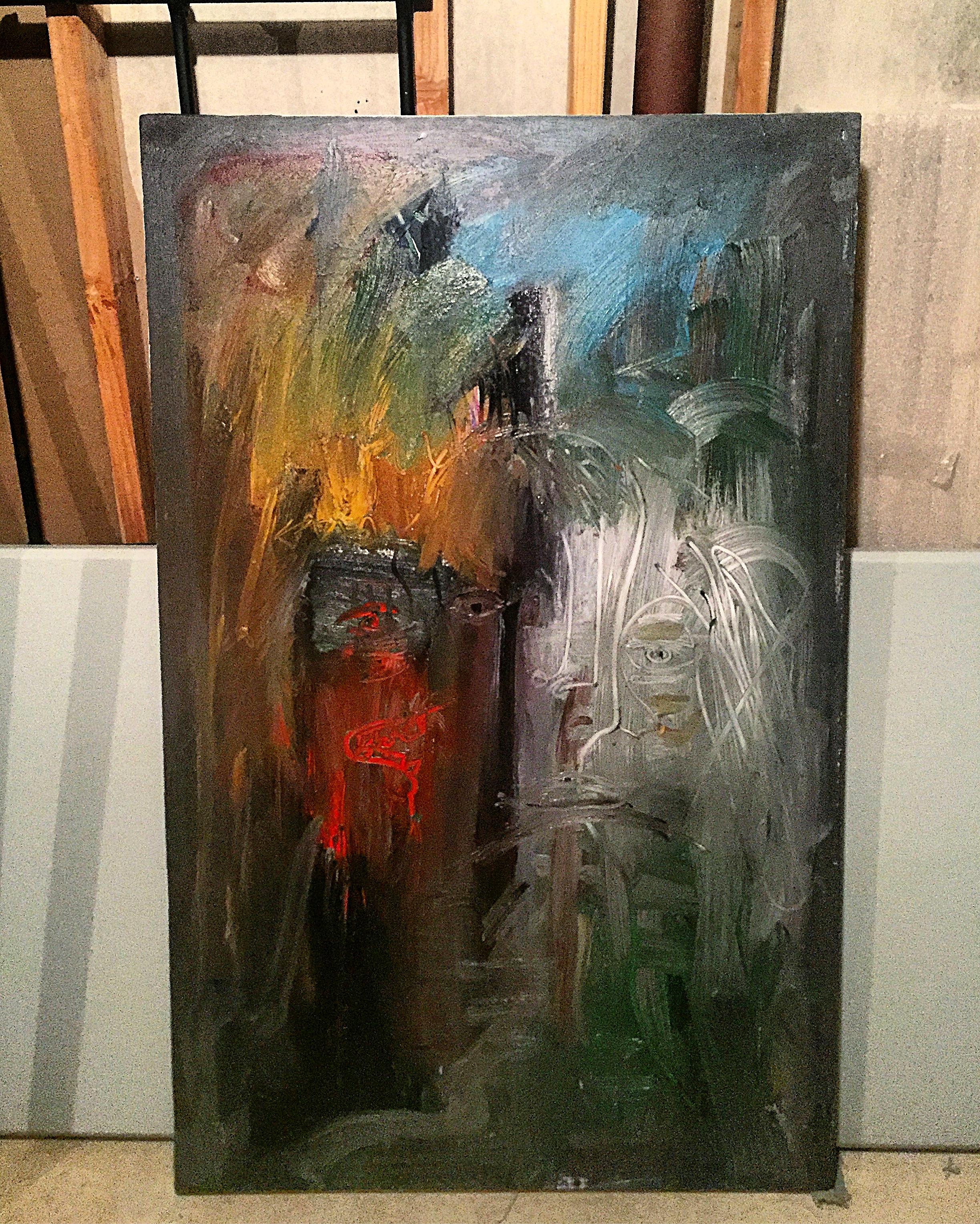 Choice Encounters, 2017  Oil on canvas