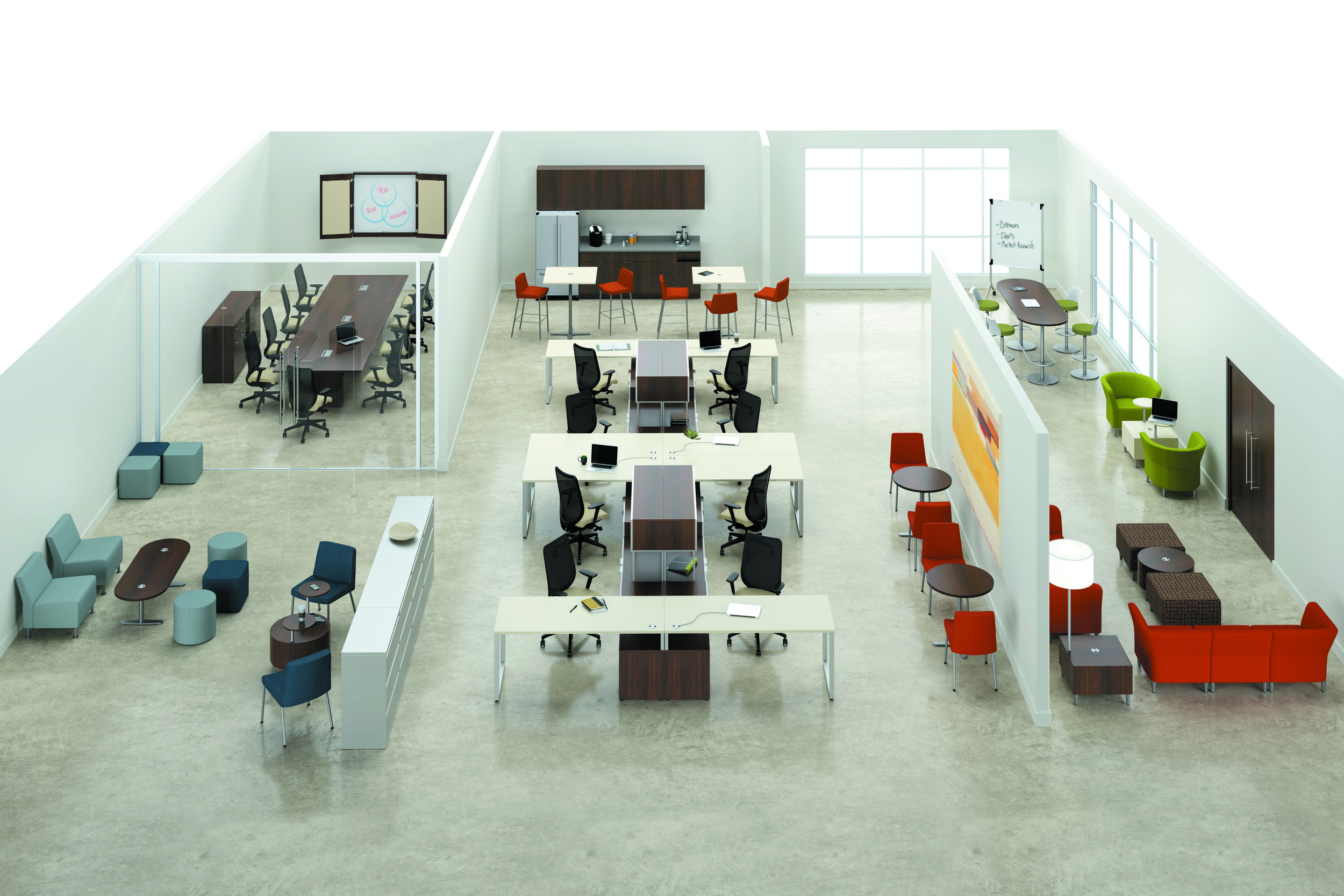 NEw Furniture SOlutions - Making it easy to Love Your Workspace!