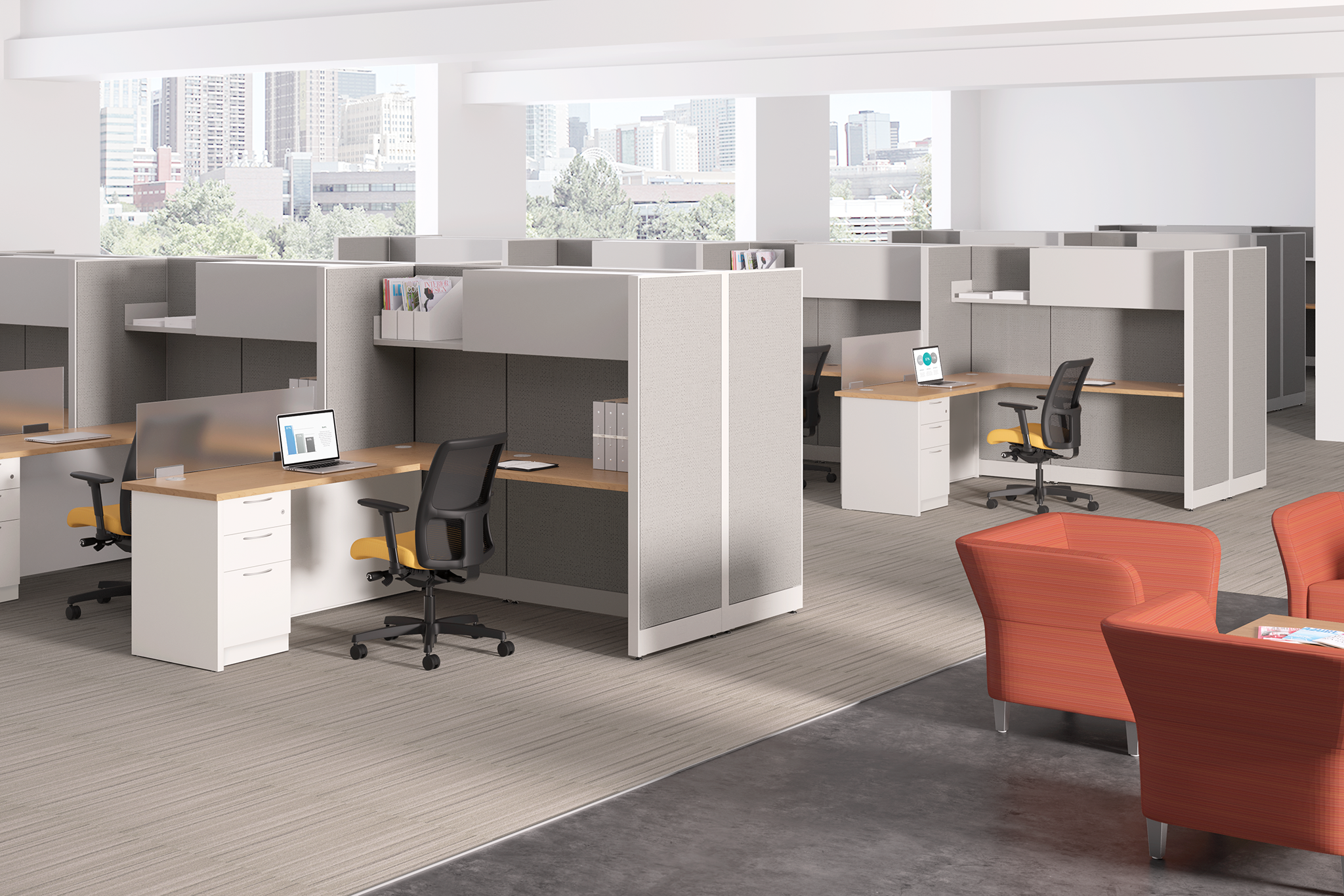 HON Accelerate & Contain Workstations - Click for PDF Brochure