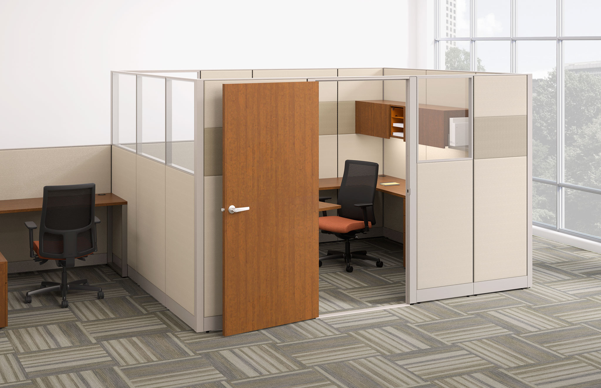 HON Accelerate Private Office Cubicle