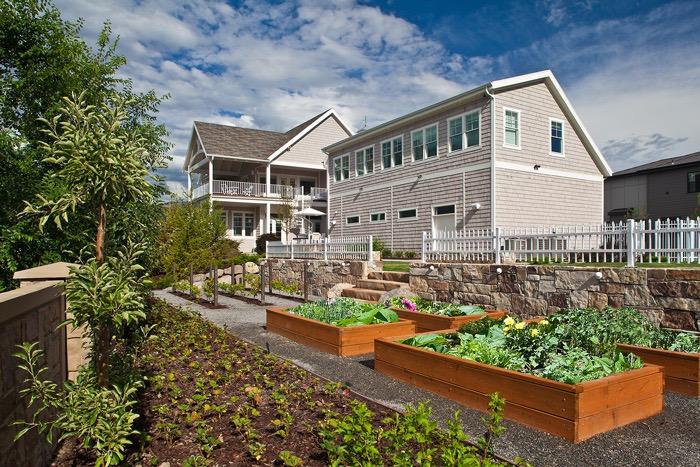 Vegetable grow boxes by Platinum Landscape & Pools.