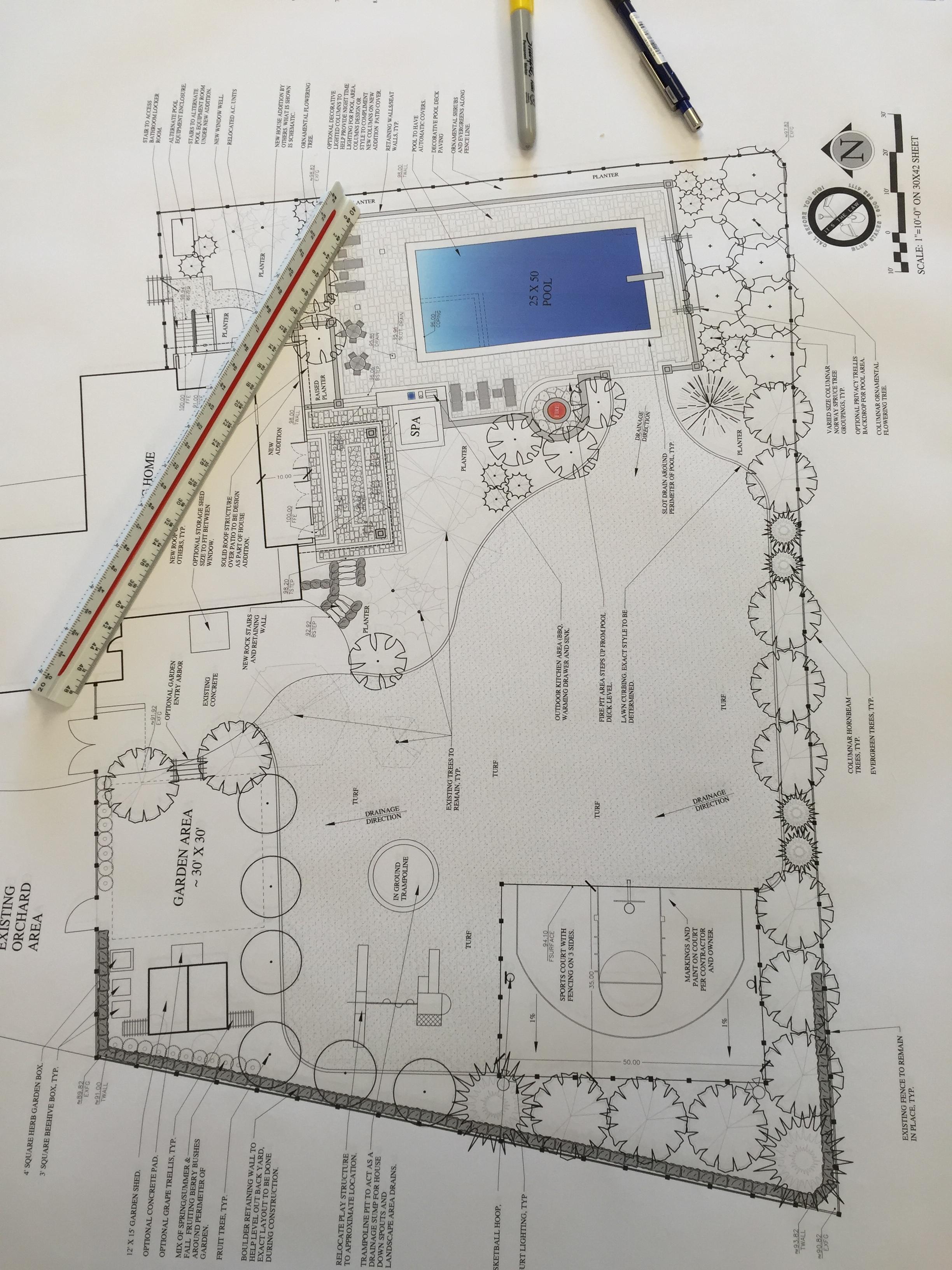 Utah swimming pool and landscape design by Platinum Landscape & Pools.