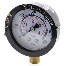 Swimming pool filter pressure valve.