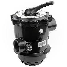 Multi-port valve for swimming pool filter.
