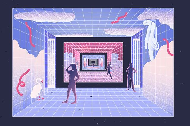 👾 animated piece for American Documentary's interactive platform / zine, Refresh 👾