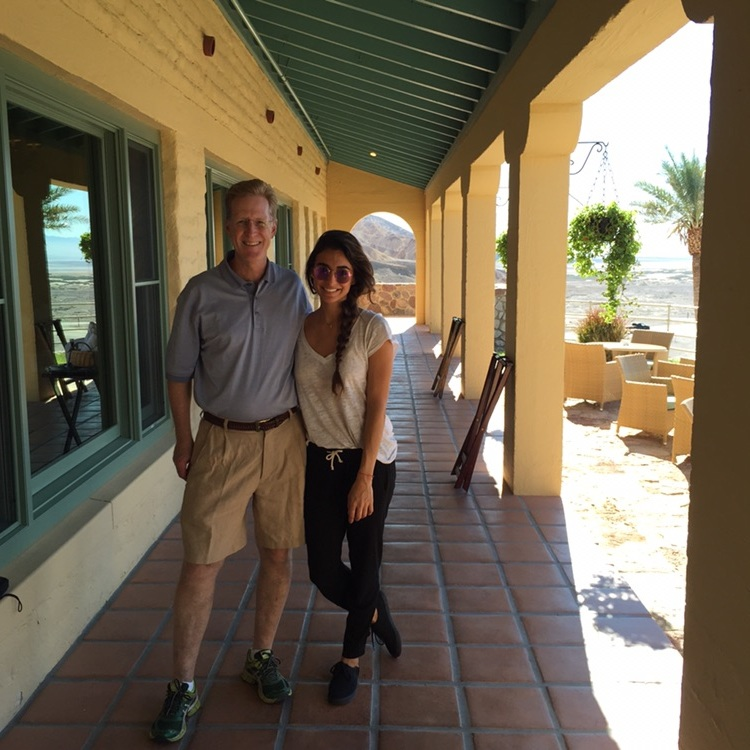 With Furnace Creek's manager, Clark. Lovely soul!