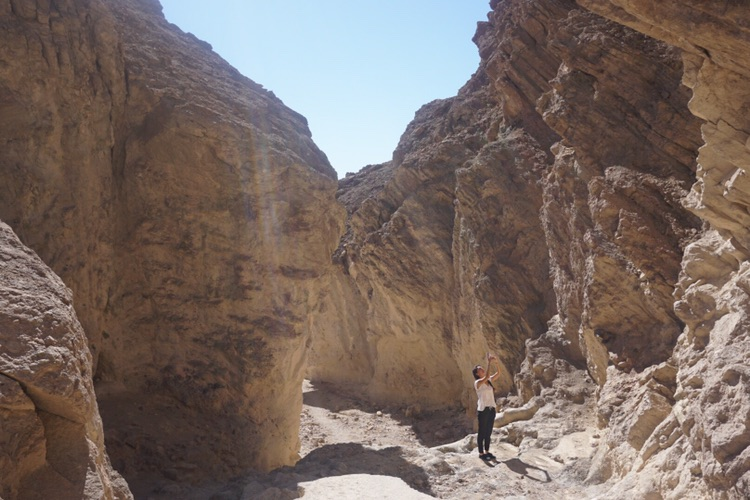Golden Canyon in Death Valley. Day 2