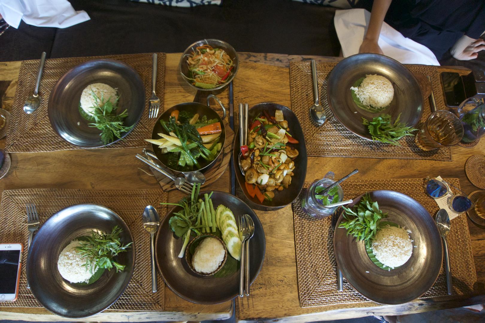 Lunch. Holistic, vegan, delicious!