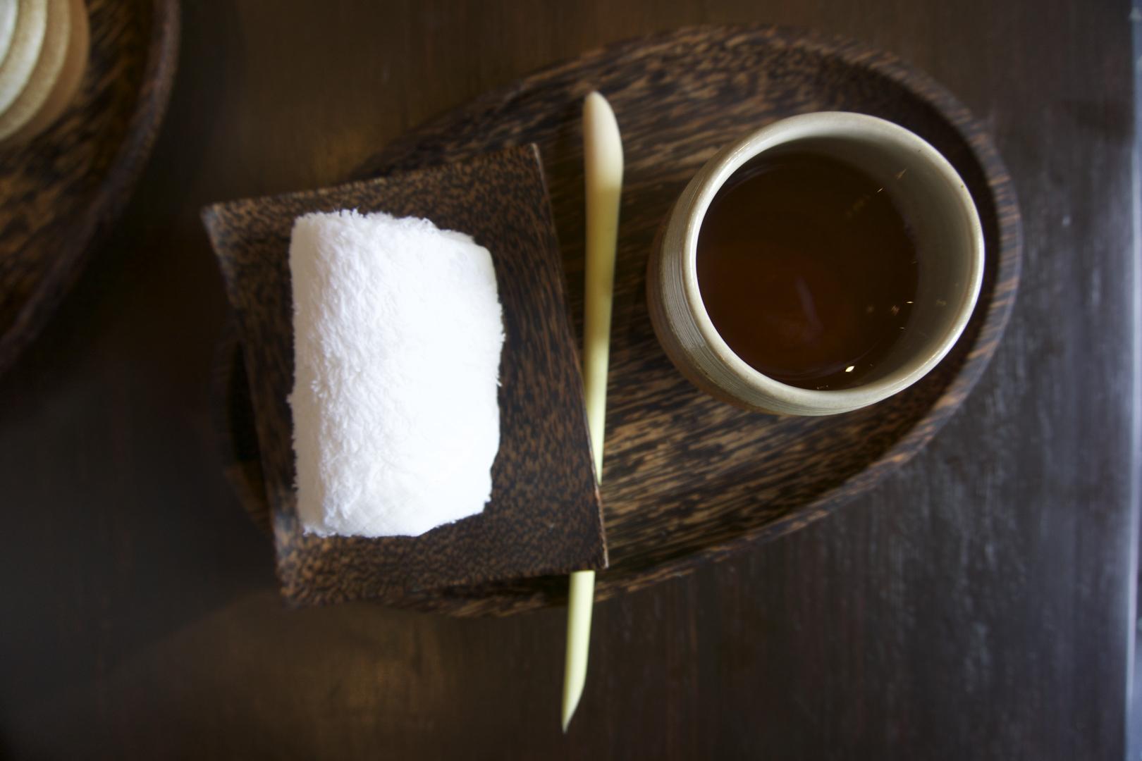 Post spa treatment tea