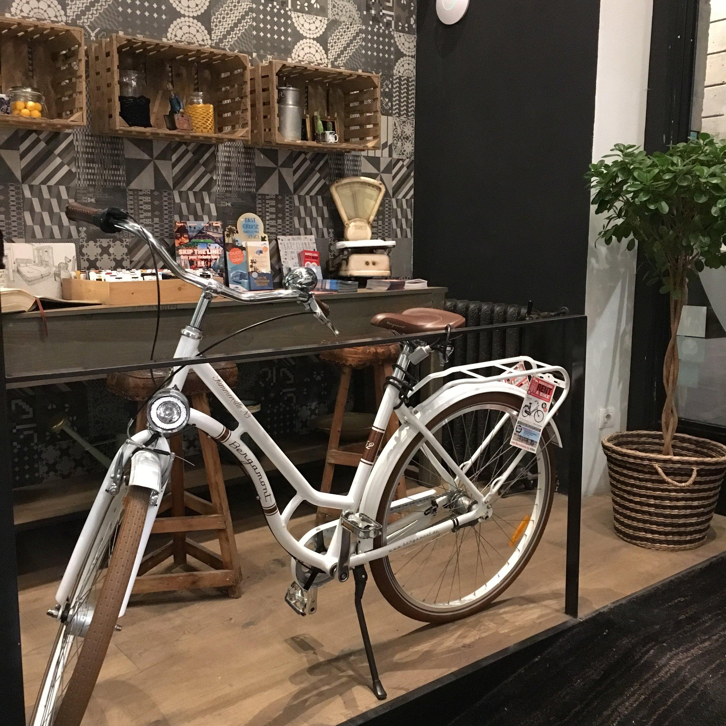 Rent your Bike at Hostal Grau. Eco-friendly Hotel.