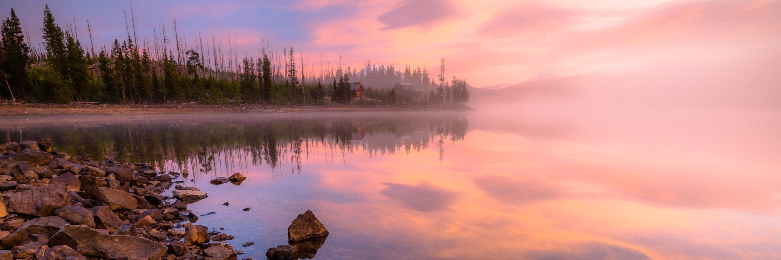 Elk Lake Sunrise