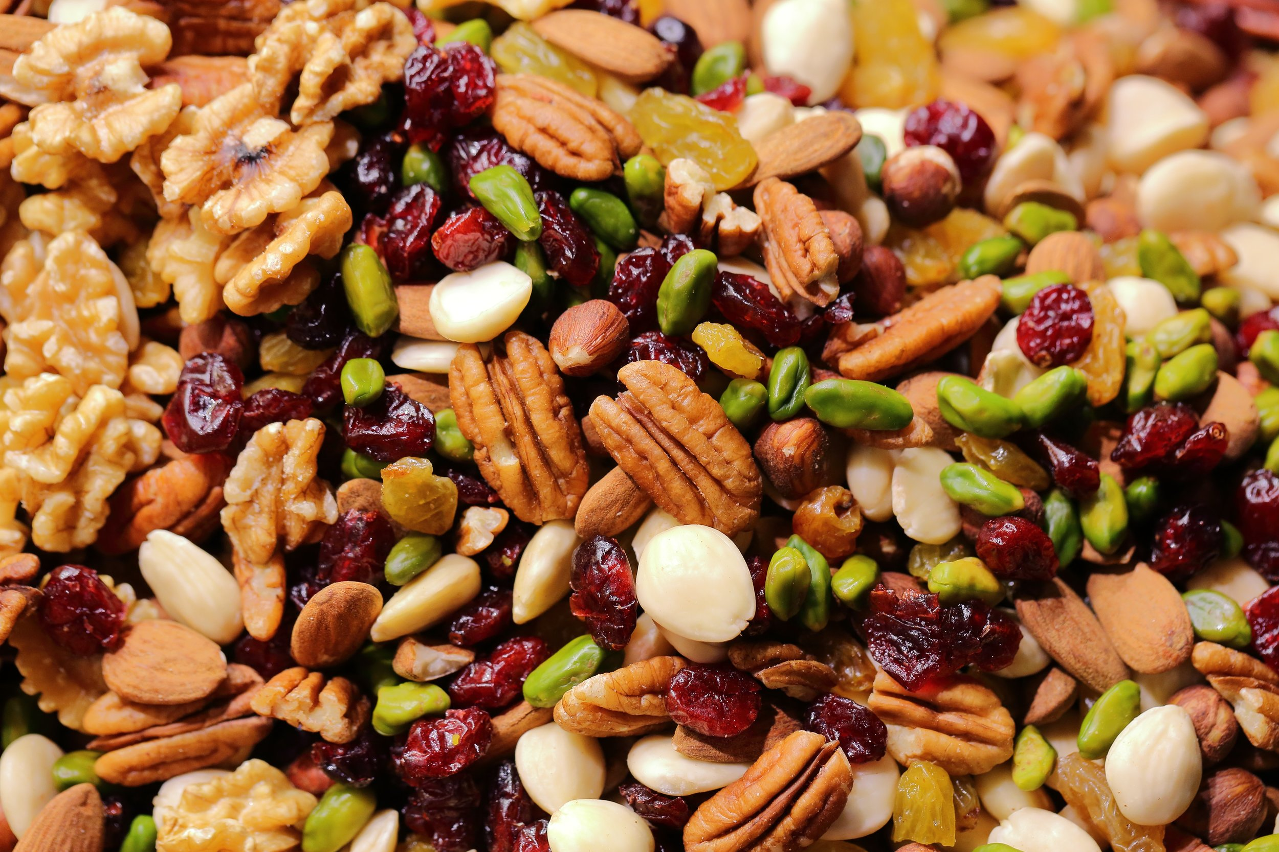 Nuts, Seeds and Grains -