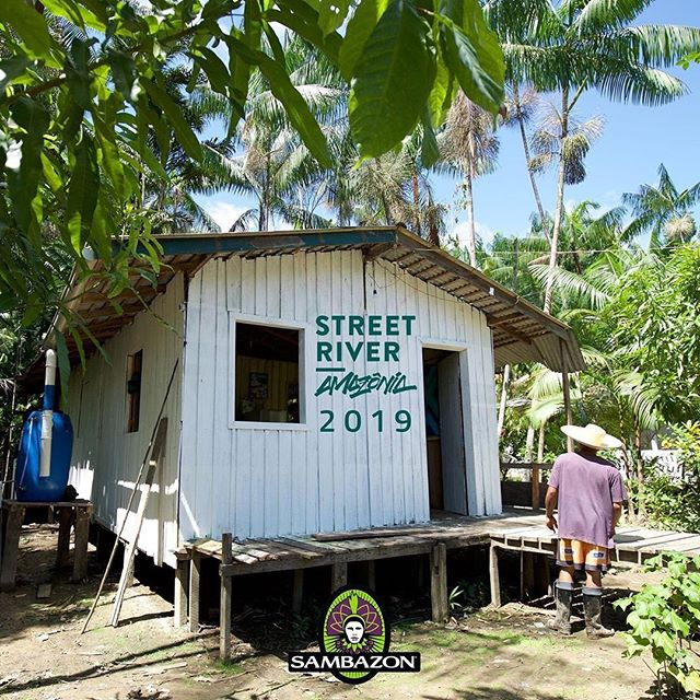Meet Street River 🌴 We're very excited to be partnering with @streetriveramazonia.isr for the 2nd year in a row to give thousands of residents a voice and use the power of art and community to revitalize villages in the Amazon! We've got a lot to live up to because last year we accomplished some lofty goals: 🎨15 stilt houses revitalized 💧20 water filters installed (that supplies 1,300 people daily for 5 years) ☀️200 children served with solar energy at their daycare school 🍎2 decks rebuilt for access to homes and schools 🛶7 canoes renovated for local transportation 🖌100 adults and 500 children participating in art workshops and residencies ✔️4,000 Amazonian residents positively impacted 💬20,000 locals voices heard @sebatapajos
