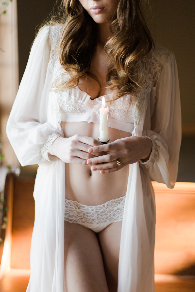 fine art boudoir, Jennifer Munoz Photography with Ira + Lucy