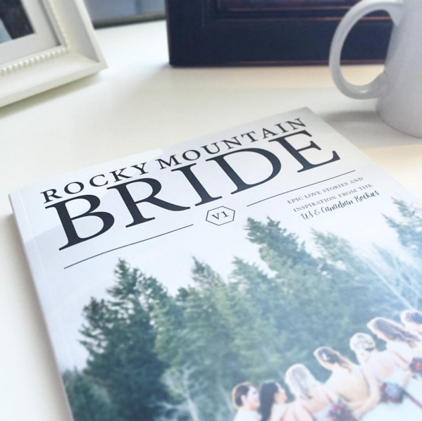 Ira and Lucy featured in Rocky Mountain Bride Magazine
