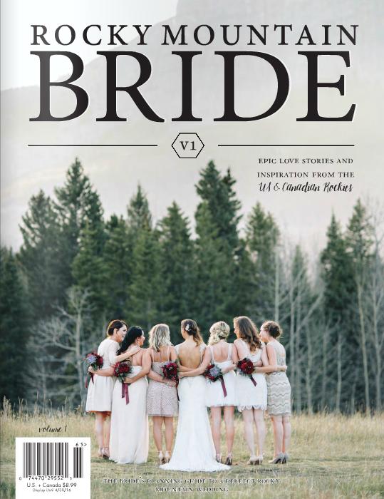 Rocky Mountain Bride Magazine Regional Issue V1