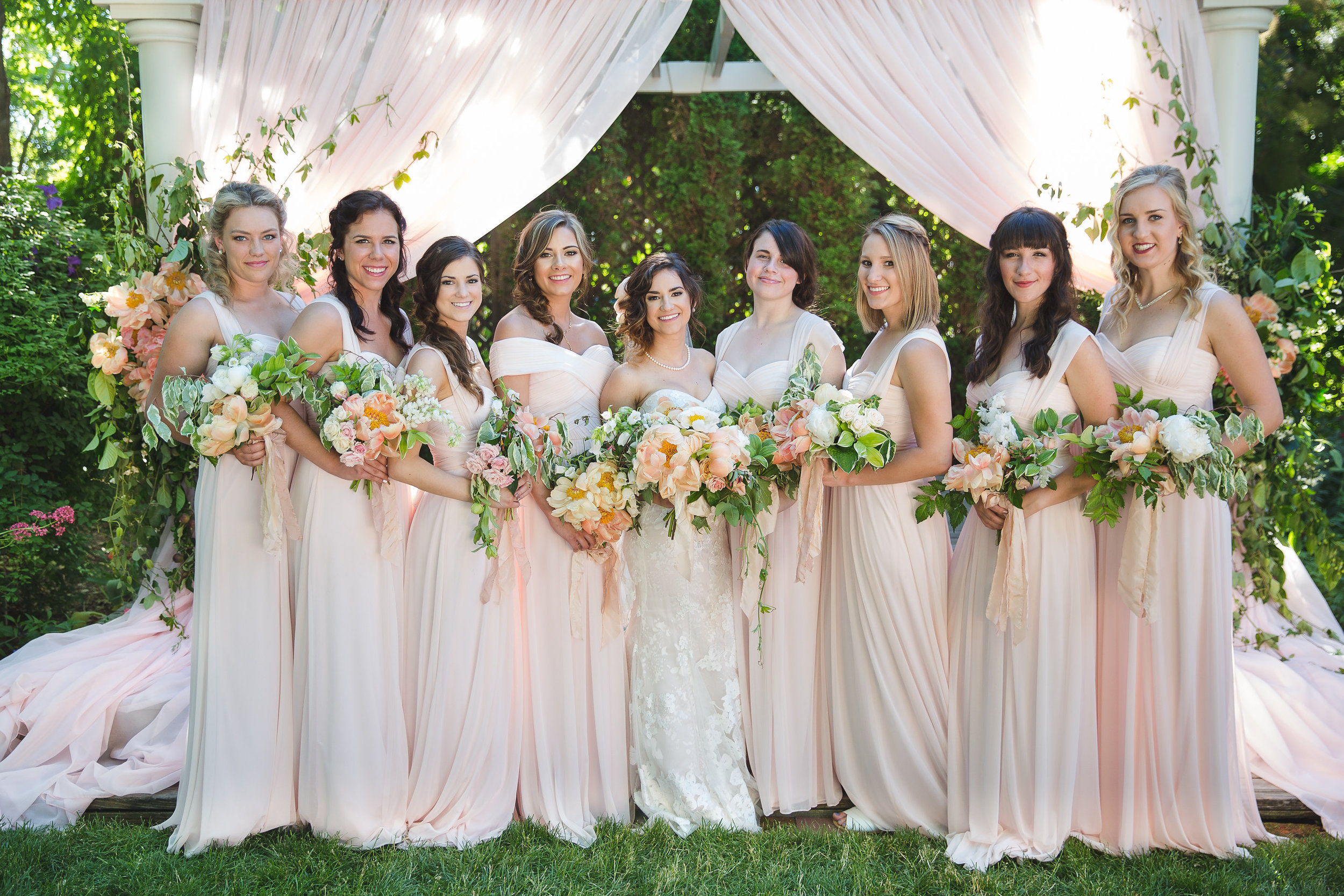 Makayla and Mike French Garden Wedding, Ira and Lucy Wedding Coordination and Design, Let It Shine Photography, Lemon Blossom Designs Floral Design