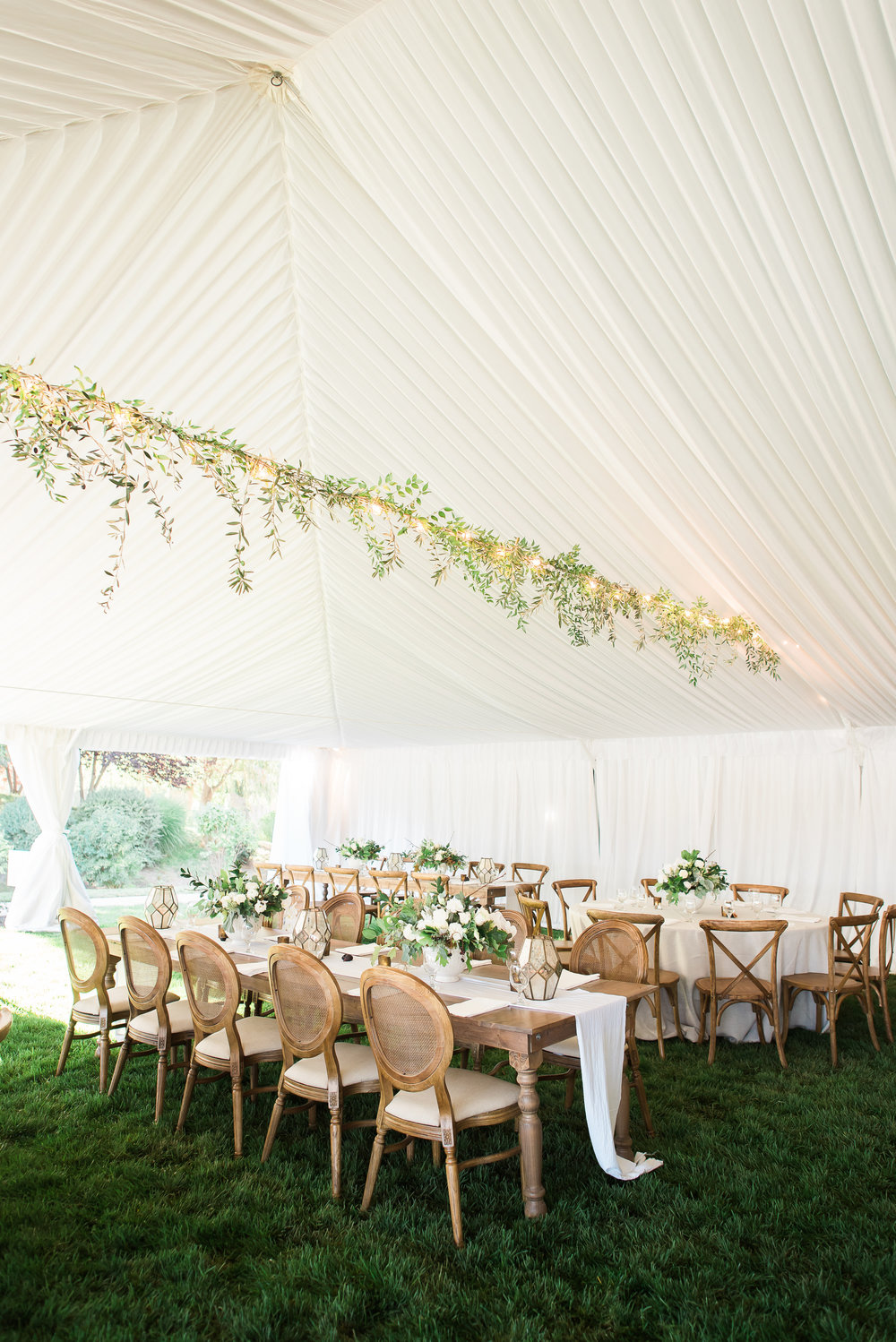 farm table rentals, Ira and Lucy, Boise wedding rentals
