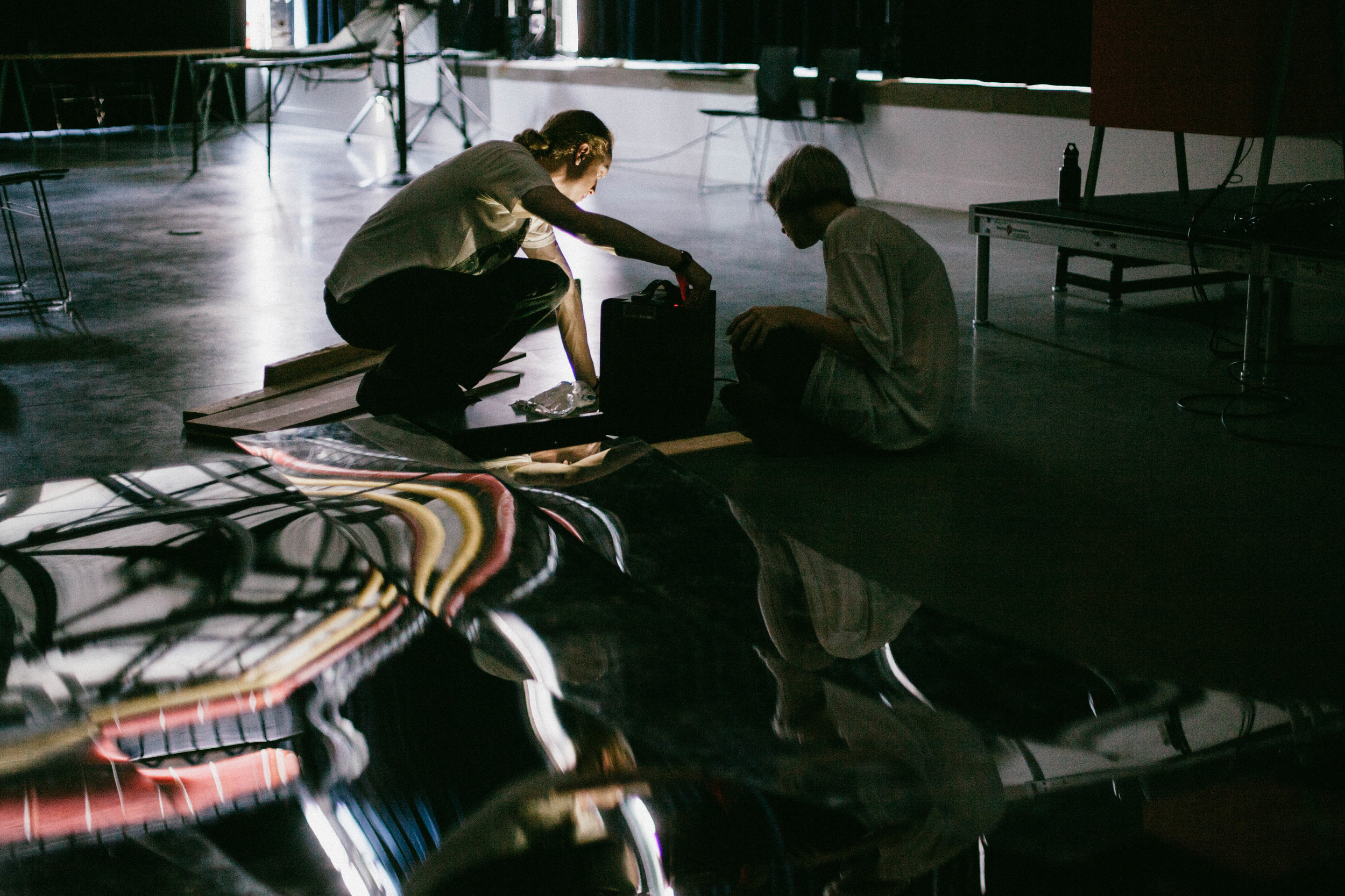 In the studio - Credit Alex Ramsey.jpg