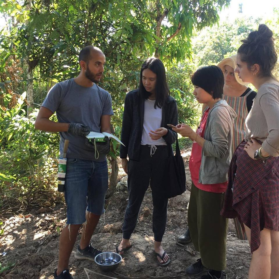 Naoko Taniguchi, Japan - I've been to Sahainan for PDC course in Dec, 2018. My 2 weeks stay here was an amazing experience. I was almost zero knowledge about permaculture when I came here. But Sandot and Shen has been patient and very much passionate teacher.  What I liked most in this place is that you can learn phycical practice on top of the theory part. There were a lot of hands-on sessions such as plant/harvest vegitables, make a compost from buffalo poo, make a bridge from bamboo, and etc. So that I was able to experience what permaculture is. I'm so glad Sahainan is the first place for me to learn permaculture.