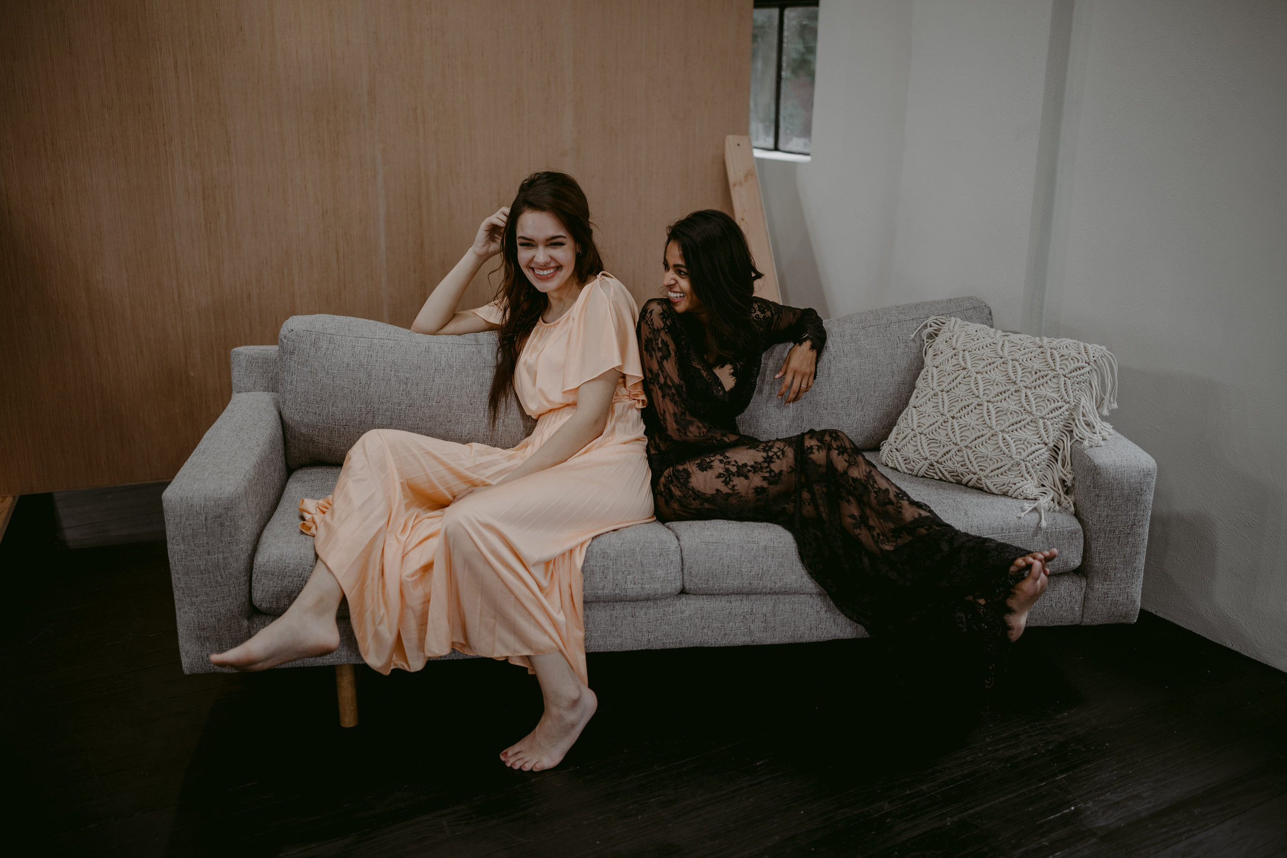 boudoir bridesmaid event