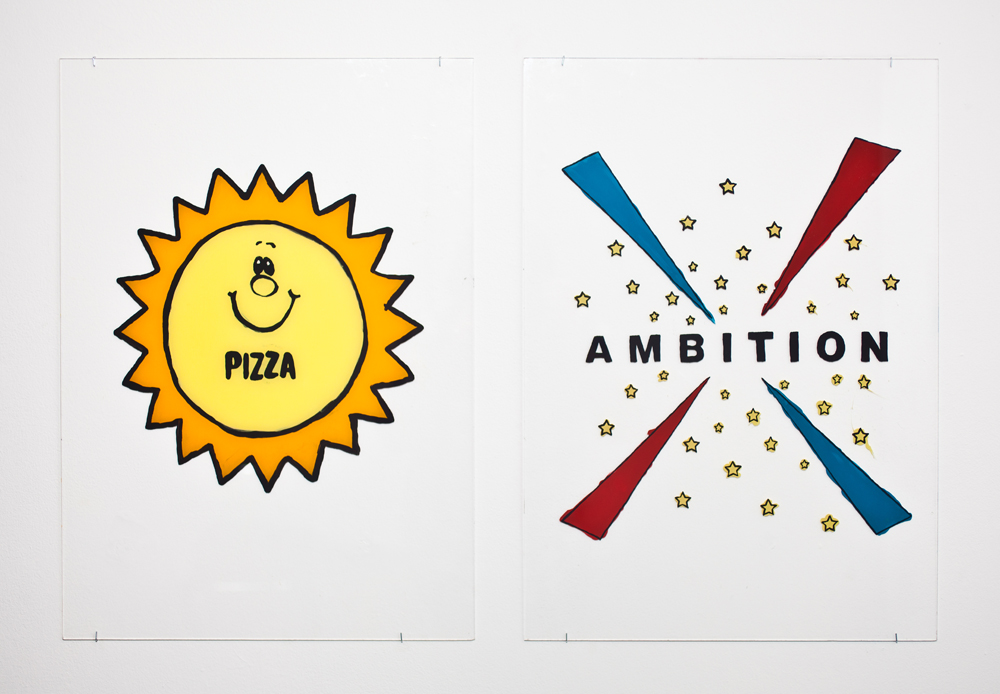 """""""Ambition Diptych"""" (2014)"""