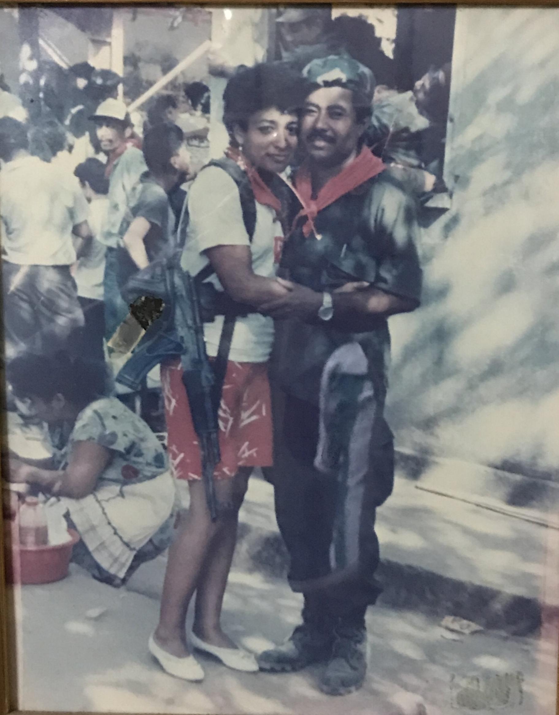 Angelica Lopez: Lisseth.  Manuel Vega Centeno: Cmdte. Nino  Canton Las Marias, Cerro El Tigre.  Usulutan. 1 De Febrero 1992