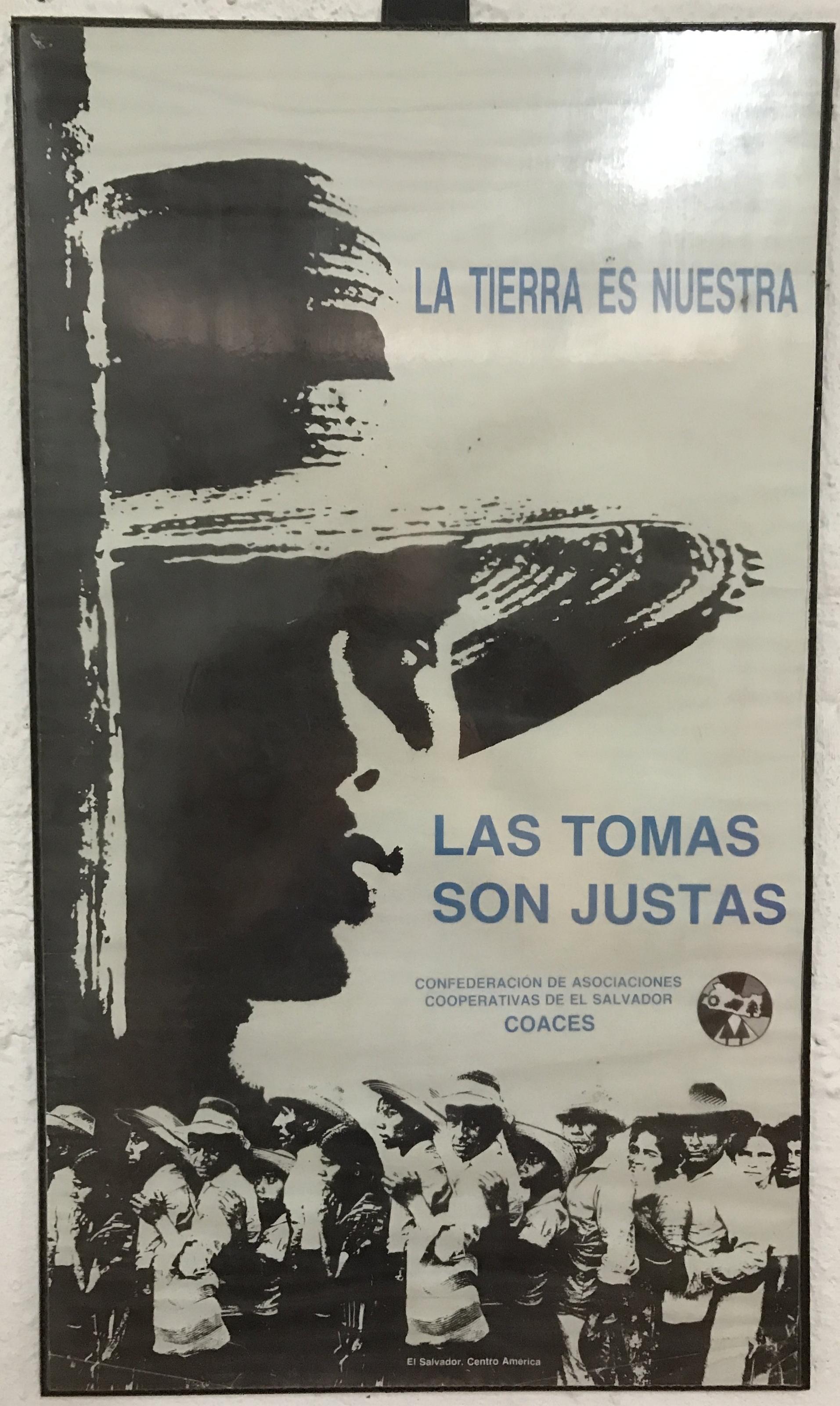 Poster by Confederacion de Asociaciones Cooperativas De El Salvador (COACES)