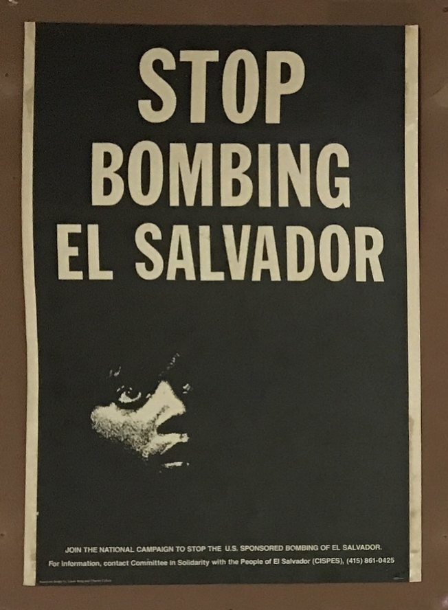 Posters by Committee in Solidarity with the People of El Salvador (CISPED)