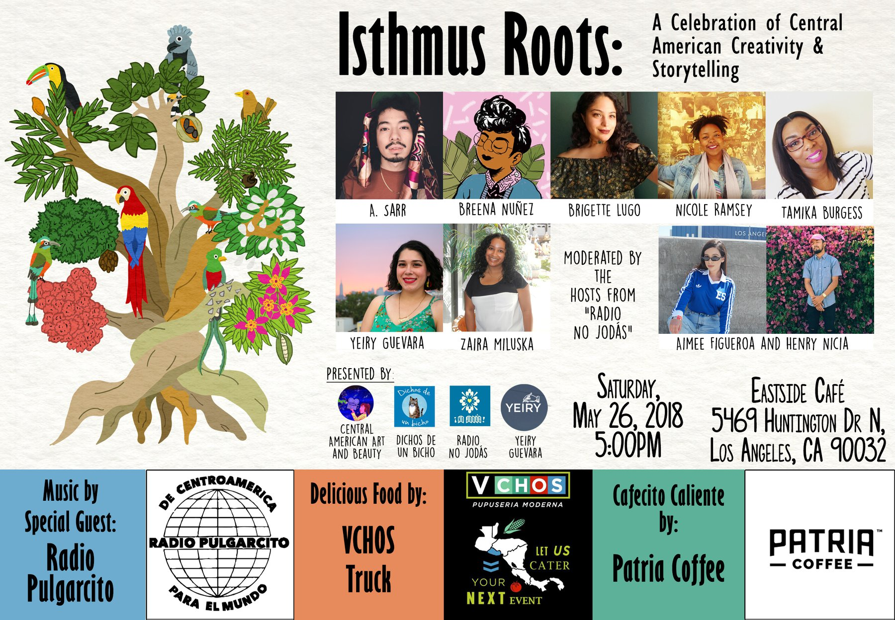 Event flyer designed by Victor of  Dichos de un bicho