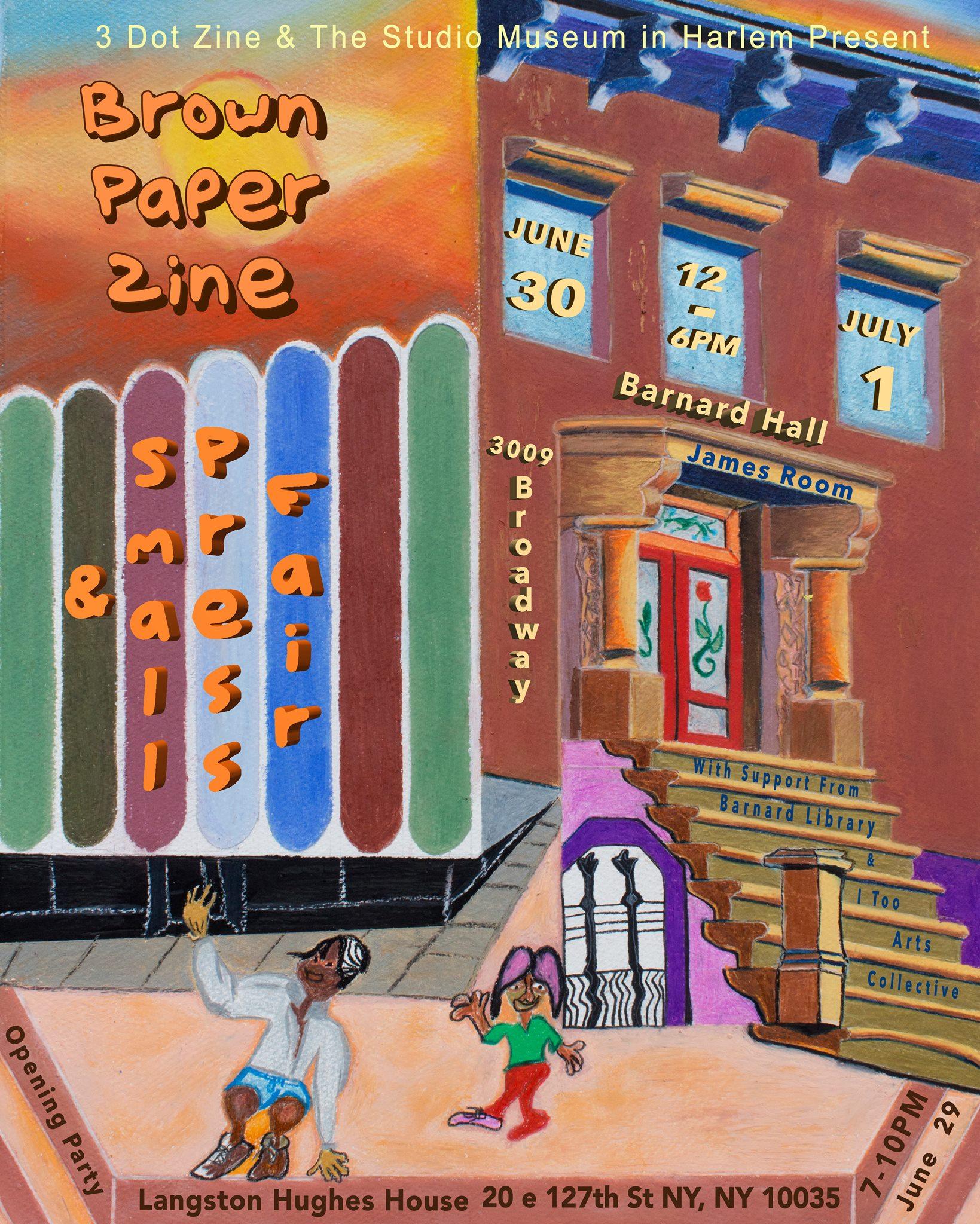 Brown Paper Zine & Small Press Fair - 2018