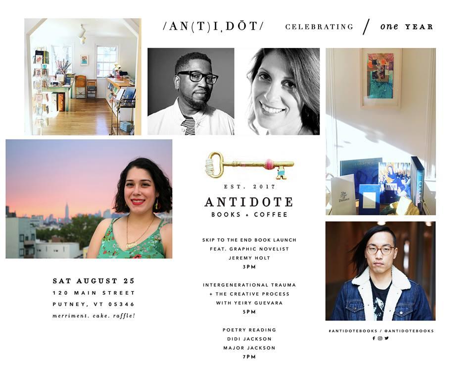 August 25, 2018 - Antidote Anniverary Celebration